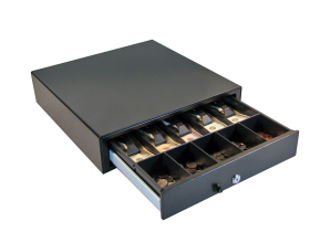 Apg Cash Drawer 5 Bill 5 Coin Manual Open
