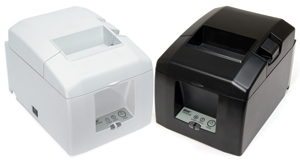 Star Micronics: TSP654K Ethernet - Liner Free Receipt Printer - designed to work with liner-free labeling applications